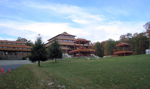 Chuang Yen Monastery is a Buddhist temple situated on 225 acres in Kent